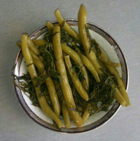 قیمت ترشی لوبیا سبز